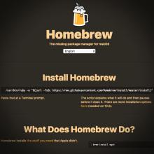 [Summary] Homebrew
