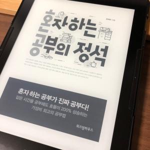 [BOOK] 혼자 하는 공부의 정석